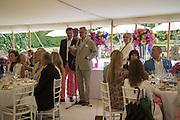 ARNAUD BAMBERGER, Goodwood Festival of Speed Cartier lunch. 27 June 2015