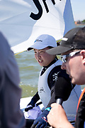 Manami Doi competing in Delta Lloyd Regatta 2017