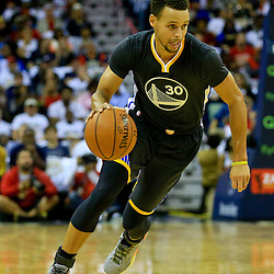 10-31-2015 Golden State Warriors at New Orleans Pelicans