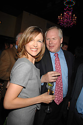 ADAM BOULTON and KATIE DERHAM at a party to celebrate the publication of Piers Morgan's book 'Don't You Know Who I Am?' held at Paper, 68 Regent Street, London W1 on 18th April 2007.<br />