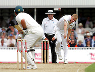 Photo © ANDREW FOSKER / SPORTZPICS 2008 - Andrew Freddie Flintoff bowls to  Graeme Smith - England v South Africa - 07/08/08 - Fourth nPower Test Match -  Day 1 - The Brit Oval - London - UK - All rights reserved