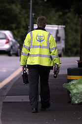 © Licensed to London News Pictures. 10/06/2013<br /> Thames Water road works Chislehurst, Kent, South East.<br /> Thames Water paid no corporation tax last year (2012) during a year in which revenues soared to £1.8billion and it received £5million credit from the Treasury. <br /> Photo credit :Grant Falvey/LNP