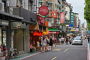 Yongkang St and the surrounding lanes are considered a must-see destination in Taipei, with a selection of cafes, restaurants and market stalls offering a range of cuisines to suit all budgets. Nestled among the eateries are numerous unique stores offering gifts, souvenirs and craft goods.