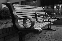 Detail of a Bench. Ybor City. Tampa, Florida.