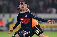 Fussball  1.Bundesliga  Saison 2017/2018  17. Spieltag VfB Stuttgart - FC Bayern Muenchen             16.12.2017 Thomas Mueller (FC Bayern Muenchen) emotional