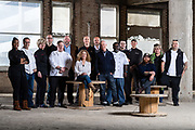 Portrait for Tri-C Hospitality Management of Cleveland chefs on March 16, 2017