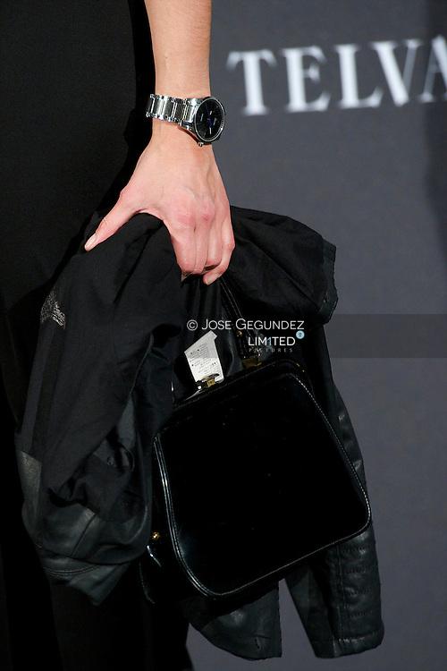 Chapero Jackson and Marta Fernandez attends Telva Awards 2012 at Hotel Palace on November 6, 2012 in Madrid, Spain