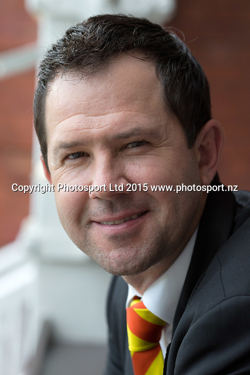 Former Australia captain, Ricky Ponting, at Lord's Cricket Ground, for the 2nd Investec Test Match. Photo: Graham Morris (Tel: +44(0)20 8969 4192 Email: sales@cricketpix.com) 14/07/15