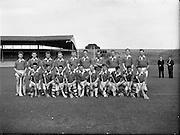 10/09/1961<br /> 09/10/1961<br /> 10 September 1961<br /> All-Ireland Junior Home Final: Kerry v Meath at Croke Park, Dublin.<br /> Kerry team.