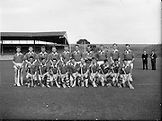 10/09/1961<br /> 09/10/1961<br /> 10 September 1961<br /> All-Ireland Junior Home Final: Kerry v Meath at Croke Park, Dublin.<br /> Kerry team.