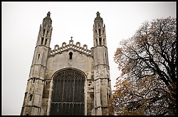 Kings College Cambridge, United Kingdom. Sunday, 17th November 2013. Picture by Andrew Parsons / i-Images