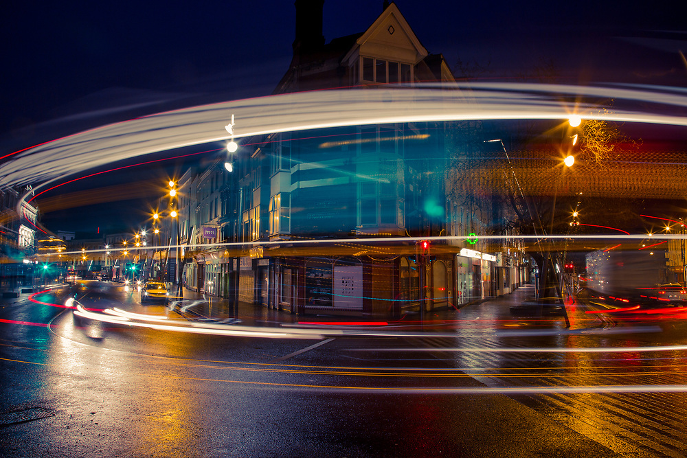 Light Trail in Cork #cork #Ireland #light #longexposure  #cars #tripod #fineart #fineartphotography #photography #photo #silvioseverino #loop_conspiracy #ingluewetrust #urban #trail  #traffic #light #bus #strret #church#loopconspiracy #silvioseverino<br /> #longexposure #night #nightphotography