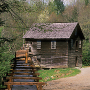 Great Smoky Mountains National Park, North Carolina, history, National Park, Great Smokey Mountains, Great Smoky Mountains, visitors, tourists, seasons, travel, Mingus Mill, mill, Mingus, corn mill, grinder, grind, water flume, flume, vertical
