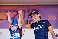 Barbara Guarischi (ITA) earns the sprint jersey at Lotto Thüringen Ladies Tour 2019 - Stage 3, a 97.8 km road race in Dörtendorf, Germany on May 30, 2019. Photo by Sean Robinson/velofocus.com
