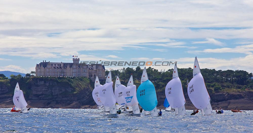 CIUDAD DE SANTANDER Trophy, Isaf sailing World Championships test event, day 1