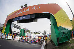 Cycling, Road Race, Start, H4 à Rio 2016 Paralympic Games, Brazil
