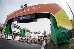 Cycling, Road Race, Start, H4 à Rio 2016 Paralympic Games, Brazil