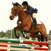 Laine Ashker and Mazetto at the Florida International Three Day Event held April 17-20, 2008 in Ocala, Florida.