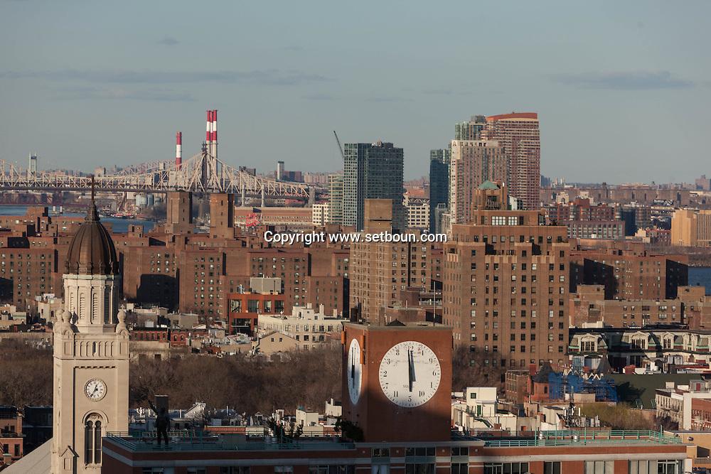 New York lower east side   skyline view ;
