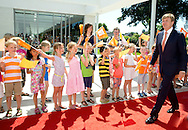 Heerde 01-07-2015 <br /> <br /> King Willem-Alexander opened the Heerd, a multi functional accommodation with<br /> schools, childcare, library and a culture square. <br /> <br /> <br /> <br /> Royalportraits Europe/Bernard Ruebsamen