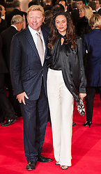 (L) Boris Becker attends the Royal World Premiere of 'Skyfall' at Royal Albert Hall, London, England, October 23, 2012. Photo by Ki Price / i-Images...Outside UK Only