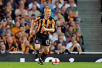 Fotball<br /> England<br /> Foto: Colorsport/Digitalsport<br /> NORWAY ONLY<br /> <br /> Paul McShane (Hull). Arsenal Vs Hull City. Barclays Premier League. Emirates Stadium. London. 27/09/2008.