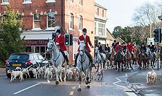 DEC 26 2012 Cottesmore Hunt