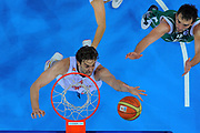 DESCRIZIONE : Kaunas Lithuania Lituania Eurobasket Men 2011 Quarter Final Round Spagna Slovenia Spain Slovenia<br /> GIOCATORE : Pau Gasol<br /> CATEGORIA : tiro special<br /> SQUADRA : Spagna Spain <br /> EVENTO : Eurobasket Men 2011<br /> GARA : Spagna Slovenia Spain Slovenia<br /> DATA : 14/09/2011<br /> SPORT : Pallacanestro <br /> AUTORE : Agenzia Ciamillo-Castoria/T.Wiendesohler<br /> Galleria : Eurobasket Men 2011<br /> Fotonotizia : Kaunas Lithuania Lituania Eurobasket Men 2011 Quarter Final Round Spagna Slovenia Spain Slovenia<br /> Predefinita :