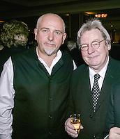Peter Gabriel and Alan Parker