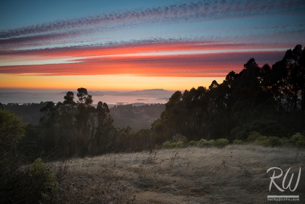 Tilden Regional Park Sunset, Berkeley Hills, California