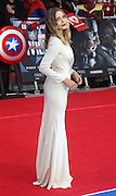 April 26, 2016 - Elizabeth Olsen attending 'Captain America: Civil War' European Film Premiere at Vue Westfield in London, UK.<br /> ©Exclusivepix Media