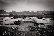 ITALY, Fondi: Plain of Fondi.The Plain of Fondi  (Piana di Fondi in Italian) is a small plain between the Ausoni and Aurunci mountains and the Tyrrhenian Sea. The plain includes three lakes and is agriculturally very fertile..©Christian Minelli