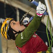 Petra Klingler, Schweizer Meisterin Eisklettern