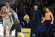 Sacchetti Romeo Meo<br /> Vanoli Cremona - Dolomiti Energia Trento<br /> Lega Basket Serie A 2018/2019<br /> Reggio Emilia, 20/01/2019<br /> Foto A.Giberti / Ciamillo - Castoria