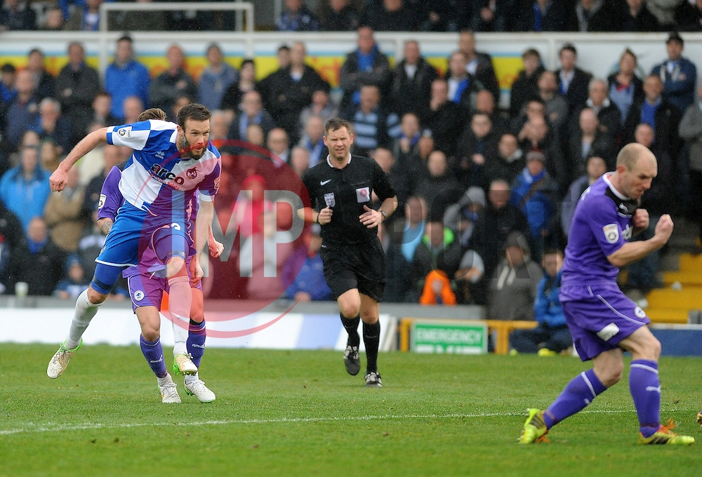 Bristol Rovers' Andy Monkhouse - Photo mandatory by-line: Neil Brookman/JMP - Mobile: 07966 386802 - 03/04/2015 - SPORT - Football - Bristol - Memorial Stadium - Bristol Rovers v Chester - Vanarama Football Conference