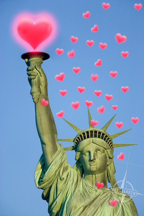 Valentines Statue of Liberty