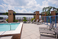 Architectural photography of Post Mass Ave Apartments in Washington DC by Jeffrey Sauers of Commercial Photographics.