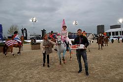 Winner best dress, Louis Talpe<br /> Ponies Knock-out<br /> Jumping Antwerpen 2017<br /> © Hippo Foto - Dirk Caremans<br /> 21/04/2017