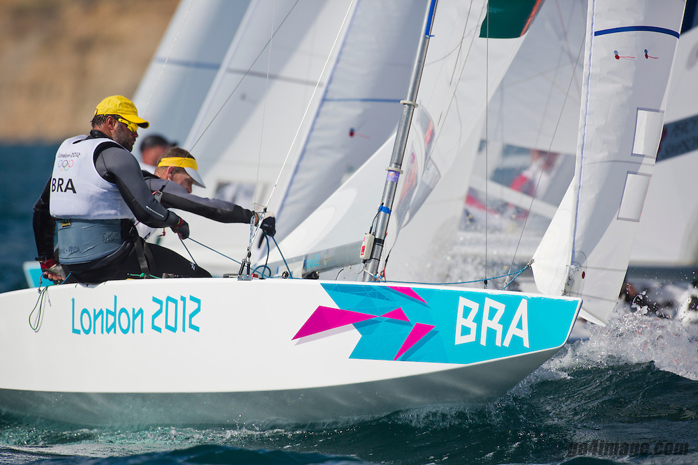 StarBRAScheidt Robert, Prada Bruno<br /> <br /> 2012 Olympic Games <br /> London / Weymouth