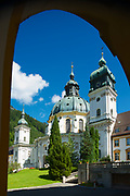 ETTAL, GERMANY - SEPTEMBER 02, 2010: Ettal Abbey, a Benedictine monastery in Ettal, Germany.