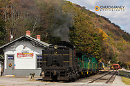 Cass Scenic Railroad in Cass, West Virginia, USA