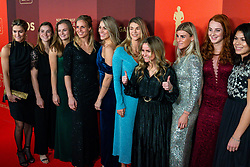 18-12-2019 NED: Sports gala NOC * NSF 2019, Amsterdam<br /> The traditional NOC NSF Sports Gala takes place in the AFAS in Amsterdam / Handbalsters, sportploeg van het jaar 2019, Fatima Moreira de Melo