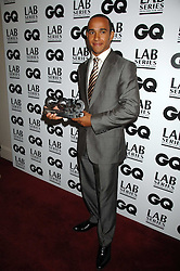 Racing driver LEWIS HAMILTON winner of the sportsman of the year award at the 10th annual GQ Men of the Year Awards held at the Royal Opera House, Covent Garden, London on 4th September 2007.<br /><br />NON EXCLUSIVE - WORLD RIGHTS