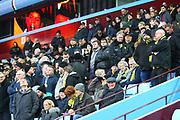 Burton Albion fans during the EFL Sky Bet Championship match between Aston Villa and Burton Albion at Villa Park, Birmingham, England on 3 February 2018. Picture by John Potts.