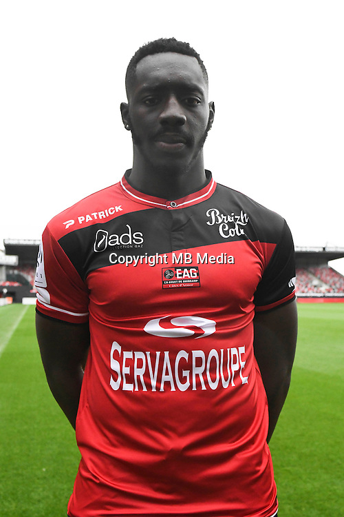 Alexandre Mendy of Guingamp during the Photo shooting of En Avant Guingamp on september 27th 2016<br /> Photo : Philippe Le Brech / Icon Sport