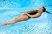 © Filippo Alfero<br /> Torino, 03/04/2009<br /> sport , tuffi<br /> Campionati Europei di Tuffi Torino 2009<br /> Nella foto: Trampolino 1m femminile - Tania Cagnotto (ITA) - medaglia d'oro<br /> <br /> © Filippo Alfero<br /> Turin, Italy, 03/04/2009<br /> Arena European Diving Championships - Turin 09<br /> In the photo: Women's 1m Springboard - Tania Cagnotto (ITA) - gold medal