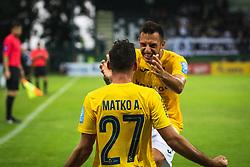 Aljoša Matko of Bravo celebrates during football match between NŠ Mura and Bravo in 2nd Round of Prva liga Telekom Slovenije 2019/20, on July 21, 2019 in Fazanerija, Murska Sobota, Slovenia. Photo by Blaž Weindorfer / Sportida