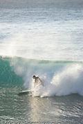 Stephen Wolfson surfing on St. Barth