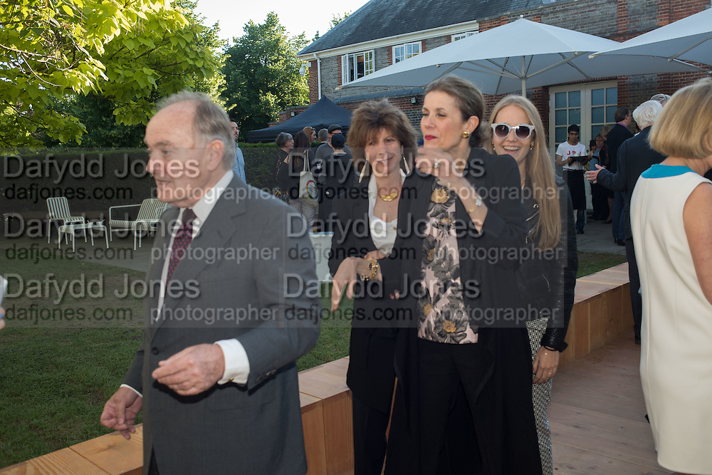 LORD PALUMBO; LADY HAYAT PALUMBO, Party  to celebrate Julia Peyton-Jones's  25 years at the Serpentine. London. 20 June 2016