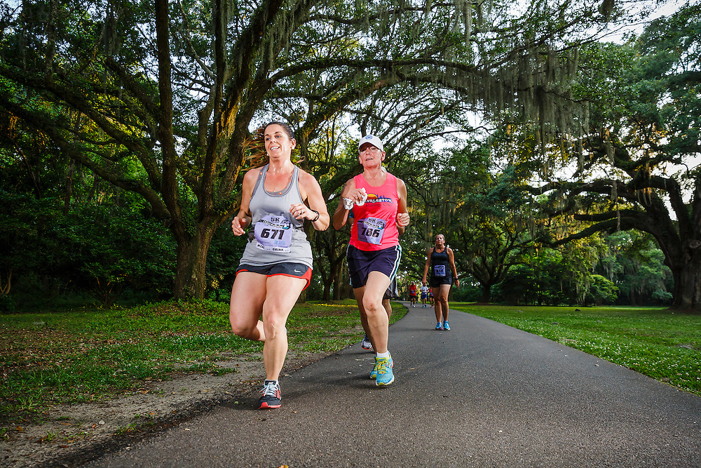 Images from the third race in the 2016 Race the Landing 5k series at Charlestowne Landing, in Charleston, South Carolina.